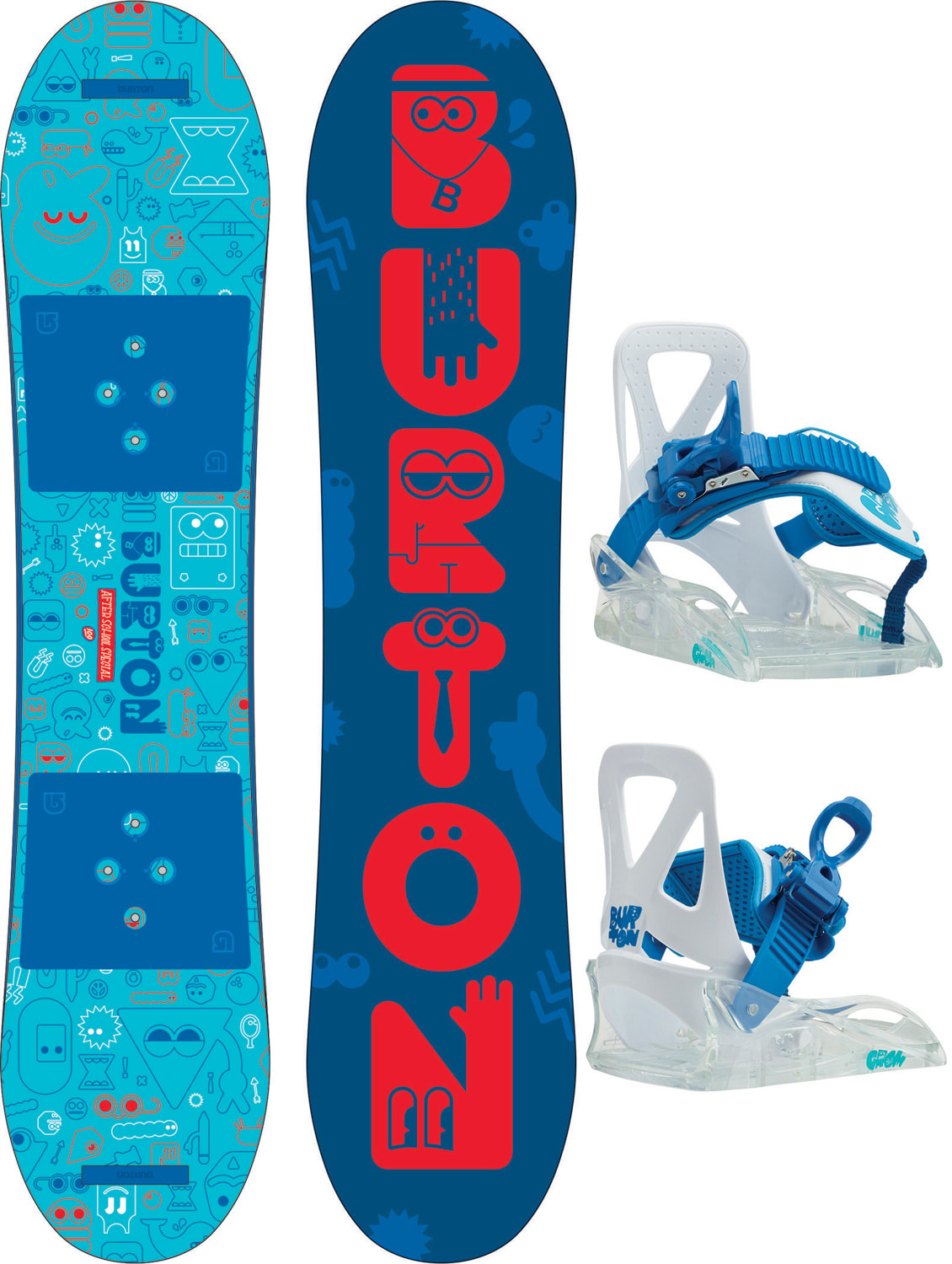Burton after school special snowboard w bindings kids for Housse burton snowboard