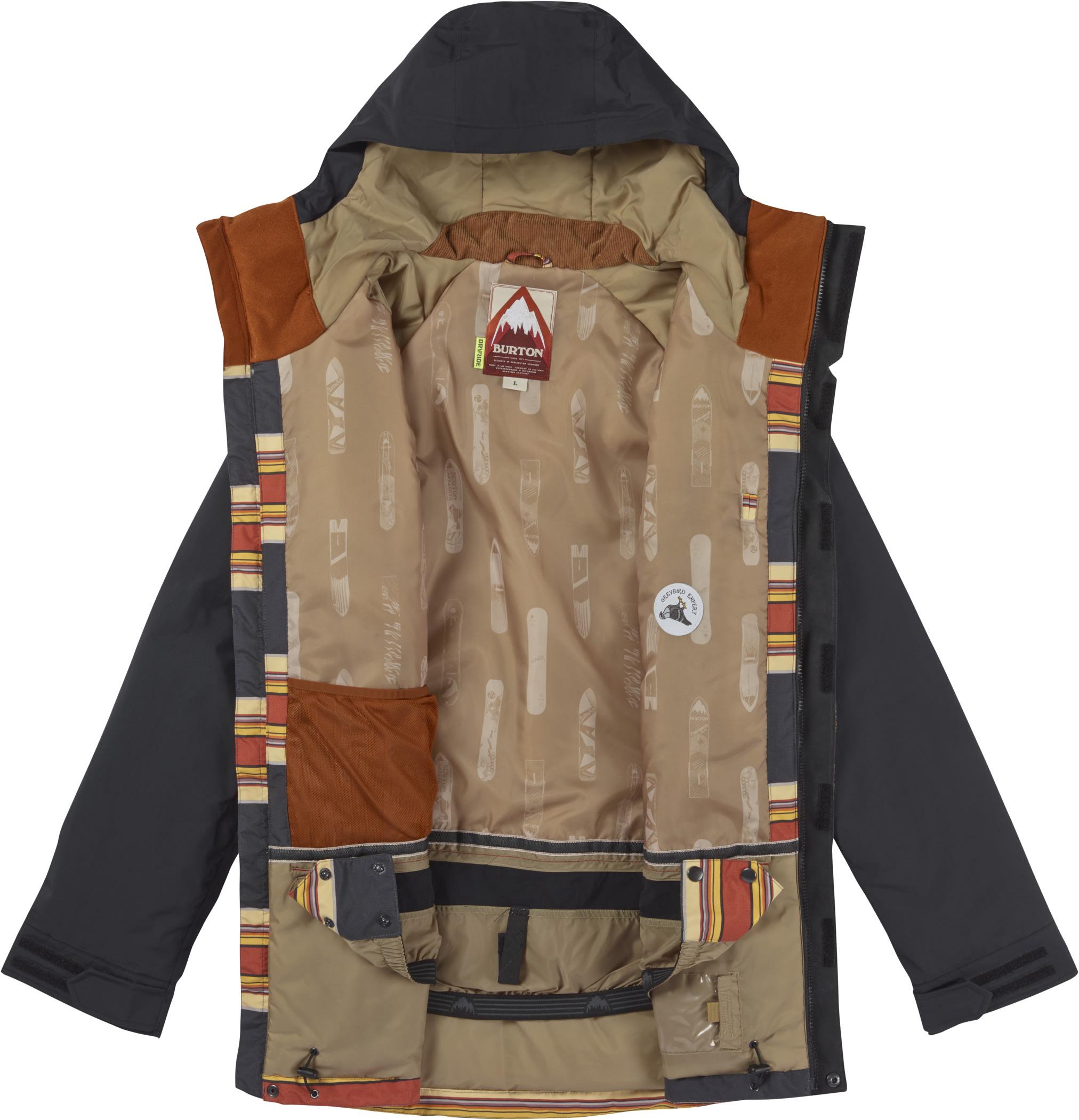 On sale burton breach snowboard jacket up to 40 off for Housse snowboard burton