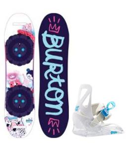 Burton Chicklet Snowboard w/ Grom Bindings