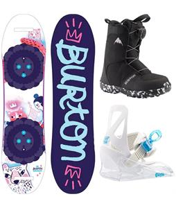Burton Chicklet Snowboard Package