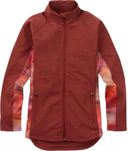 Burton Crystal Collar Full-Zip Fleece