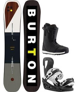 Burton Custom Flying V Snowboard Package