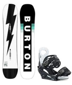 Burton Custom Smalls Snowboard w/ Smalls Bindings