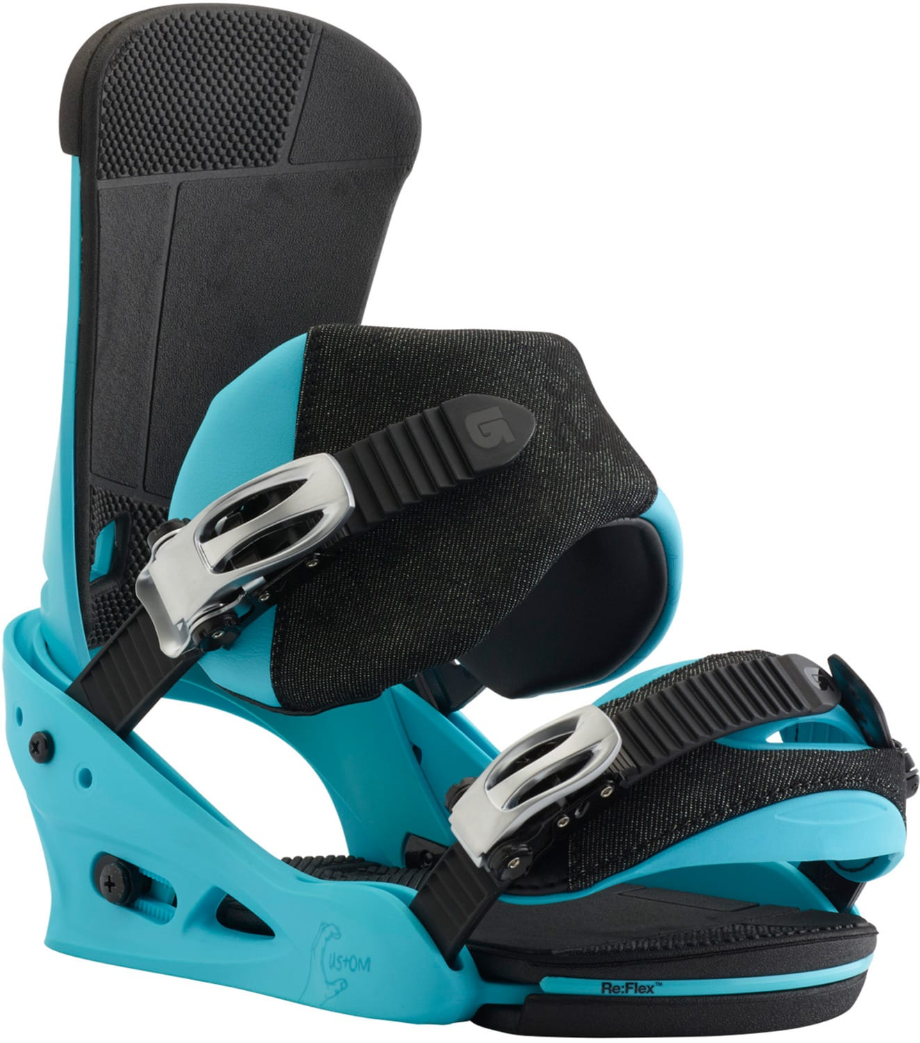burton custom snowboard bindings 2018
