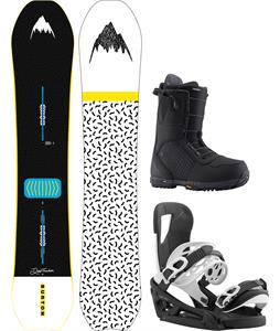 Burton Deep Thinker Snowboard Package