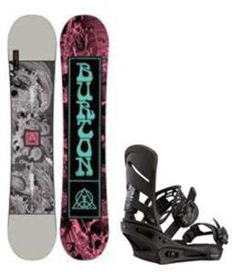 Burton Descendant Snowboard w/ Mission Bindings