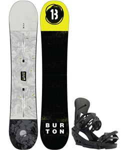 Burton Descendant Snowboard w/ Mission EST Bindings
