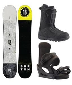 Burton Descendant Snowboard Package