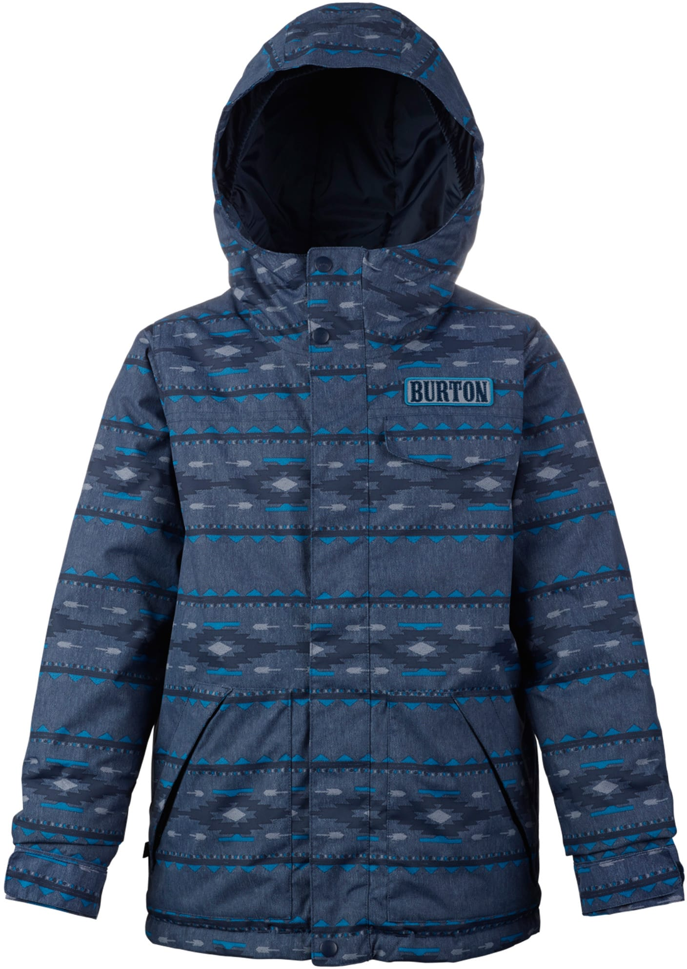 Burton dugout snowboard jacket kids youth 2018 for Housse burton snowboard