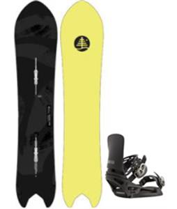 Burton Family Tree Pow Wrench Snowboard w/ Cartel X EST Bindings