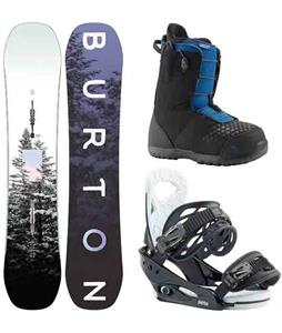 Burton Feelgood Smalls Snowboard Package