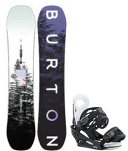 Burton Feelgood Smalls Snowboard w/ Smalls Bindings