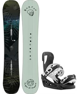 Burton Flight Attendant Snowboard w/ Cartel EST Bindings