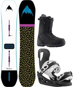 Burton Free Thinker Snowboard Package