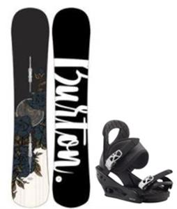 Burton Hideaway Snowboard w/ Citizen Bindings