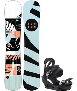Burton Hideaway Snowboard w/ Stiletto Bindings