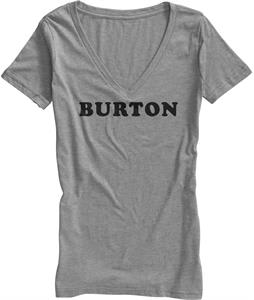 Burton Iron On Vneck T-Shirt