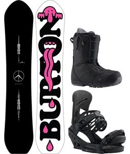 Burton Kilroy Custom Snowboard Package