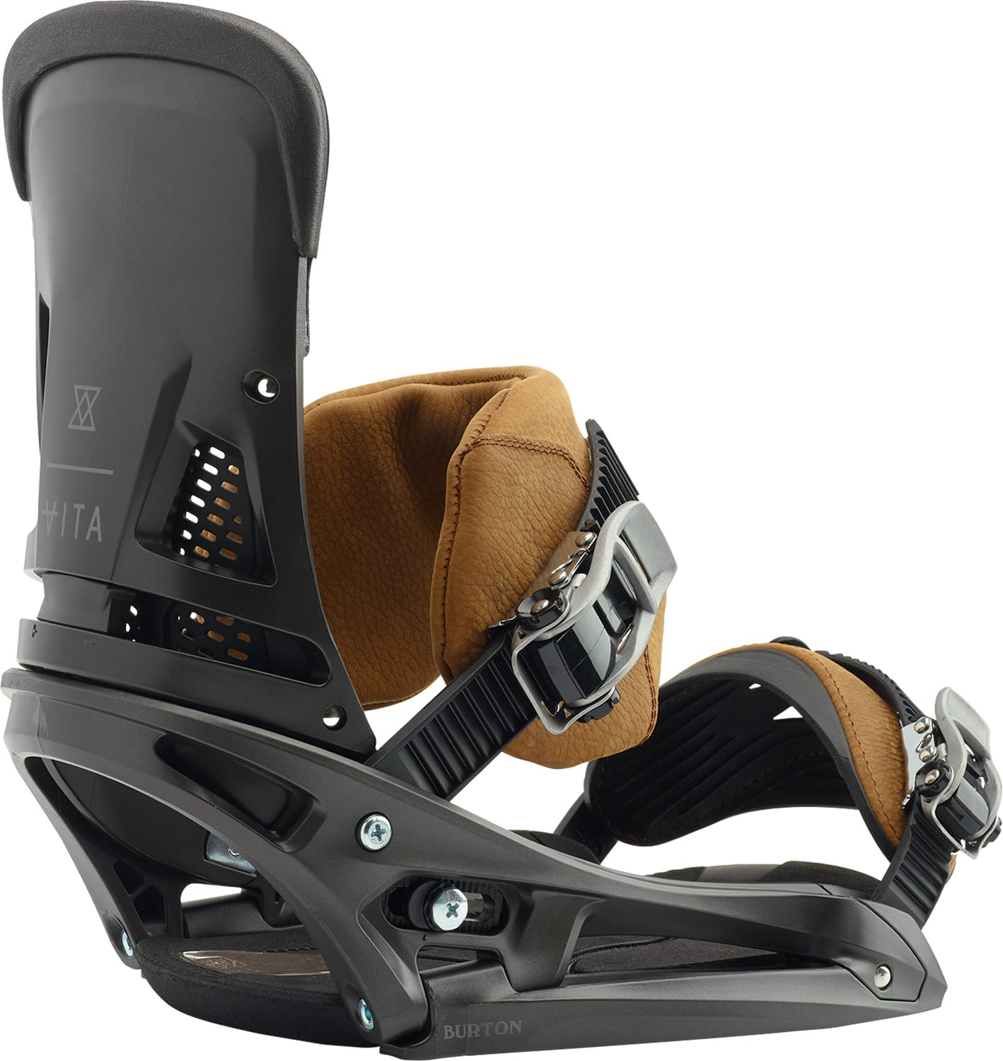 Burton Malavita EST Leather Snowboard Bindings 2019
