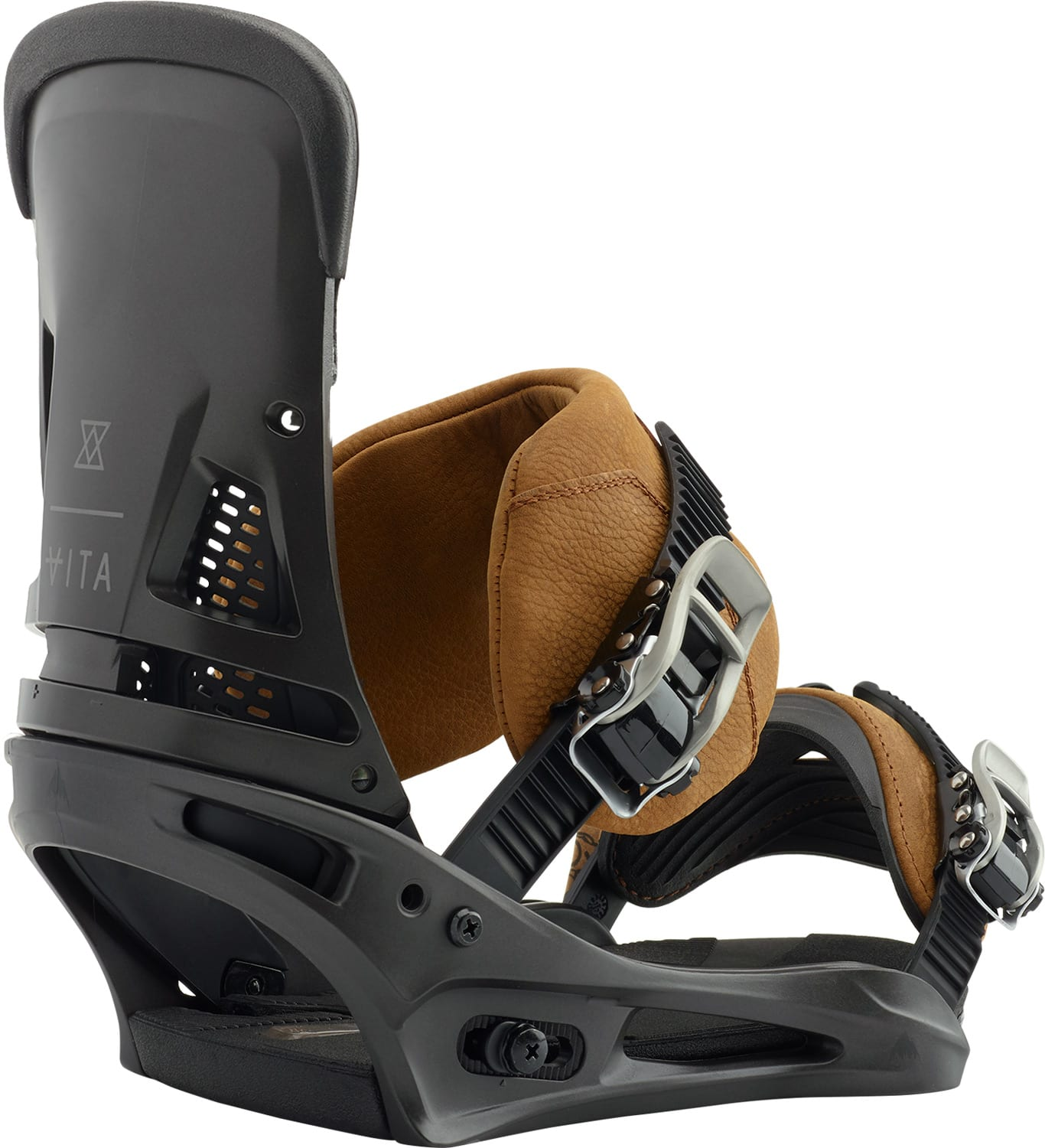Burton Malavita Leather Snowboard Bindings 2019