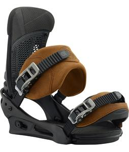Burton Malavita Leather Snowboard Bindings