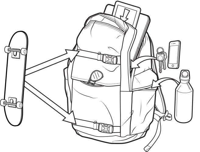 Dakine Seat Harness Small