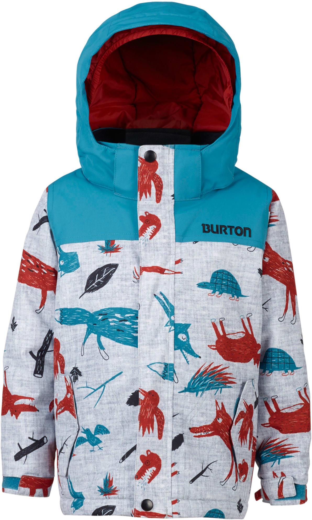 Burton minishred amped snowboard jacket kids youth 2018 for Housse snowboard burton