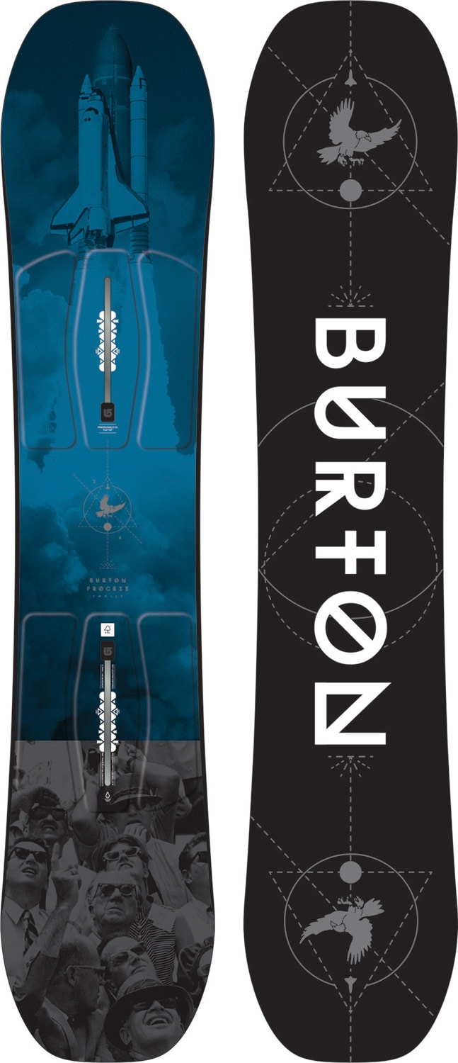 The house snowboard burton process smalls snowboard for Housse snowboard