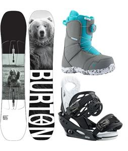 Burton Process Smalls Snowboard Package