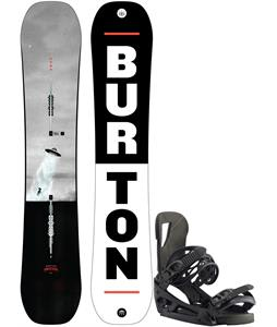 Burton Process Snowboard w/ Cartel EST Bindings