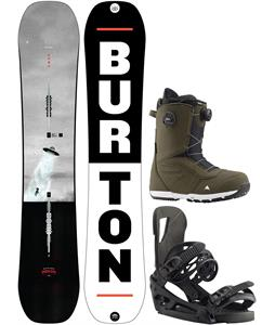 Burton Process Snowboard Package