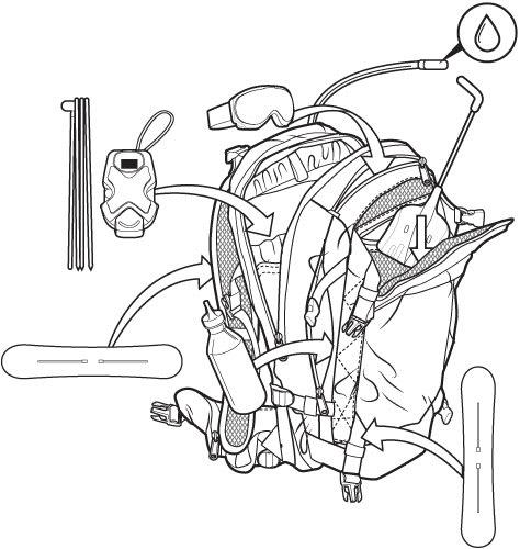 Burton Riders 22l Backpack