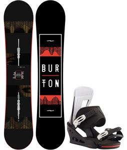Burton Ripcord Snowboard w/ Freestyle Bindings