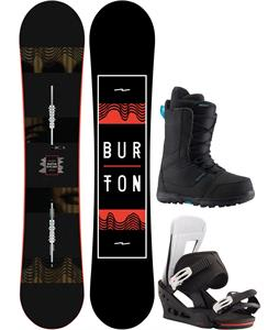 Burton Ripcord Snowboard Package