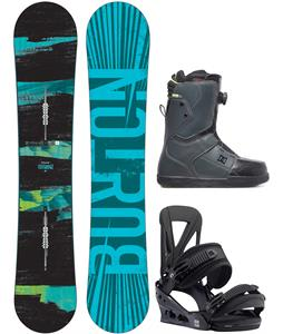 Burton Ripcord Wide Snowboard Package