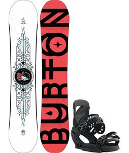 Burton Talent Scout Snowboard w/ Lexa EST Bindings