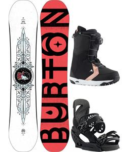 Burton Talent Scout/BOA Snowboard Package