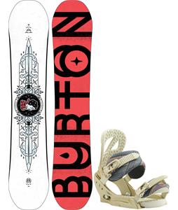 Burton Talent Scout Snowboard w/ Scribe EST Bindings