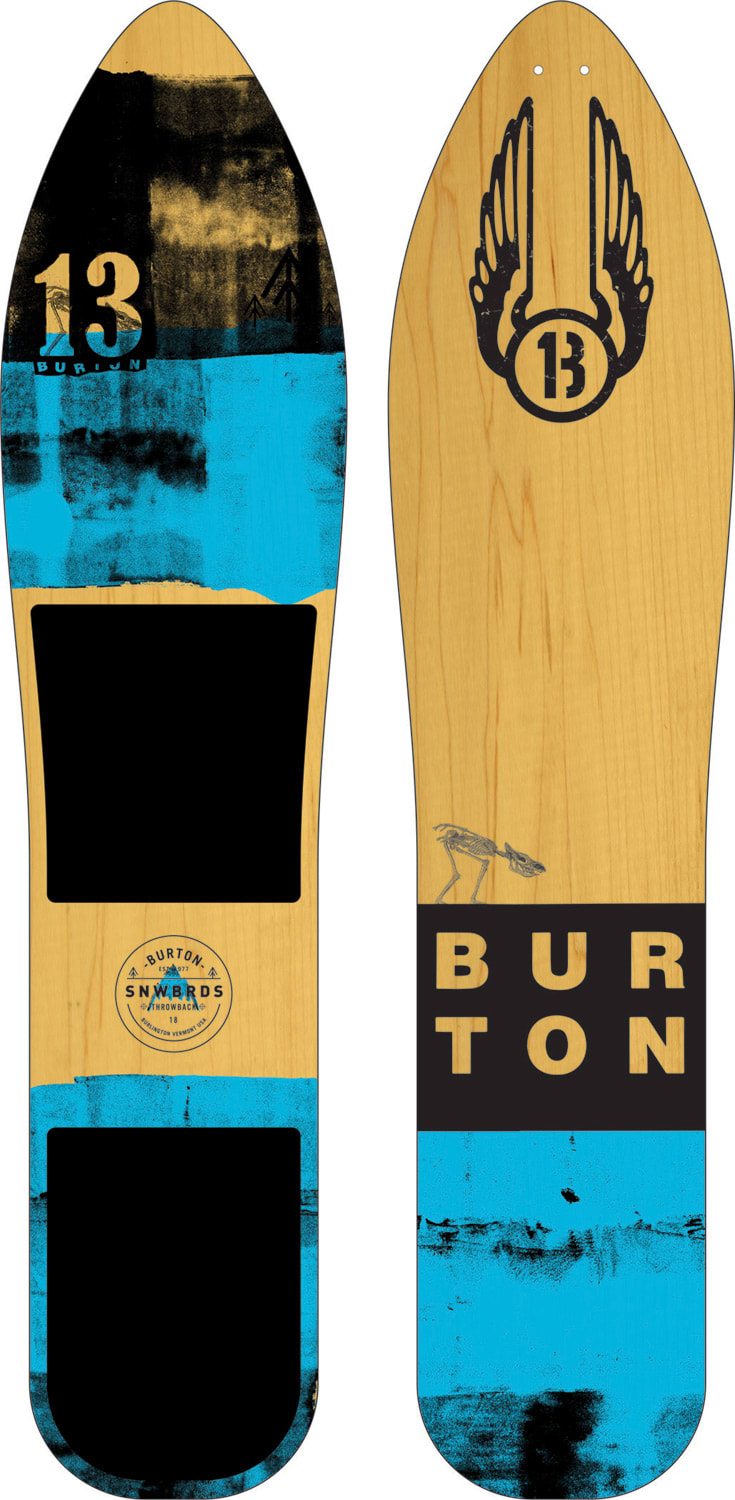 Burton throwback snowboard 2018 for Housse burton snowboard