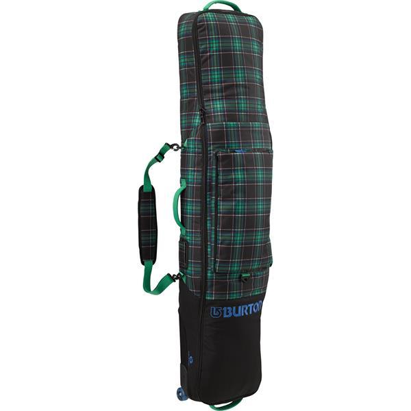 Burton Wheelie Gig Bag Snowboard Bag Turf Haggis Plaid 166Cm U.S.A. & Canada