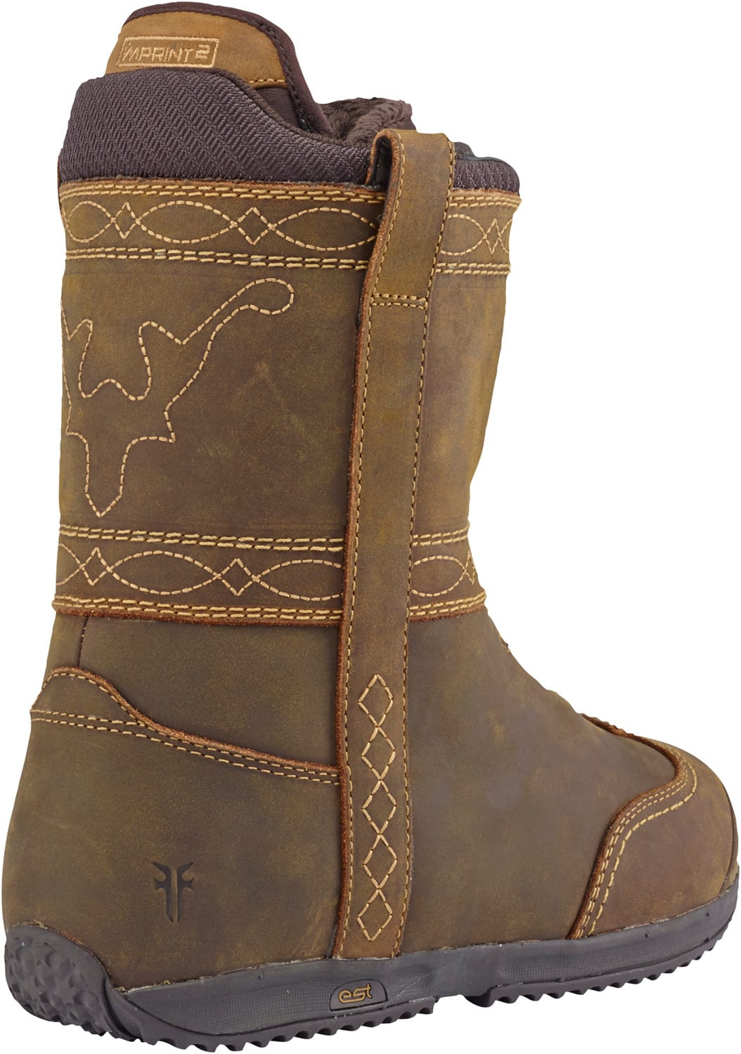 On sale burton x frye snowboard boots womens up to 40 off for Housse burton snowboard