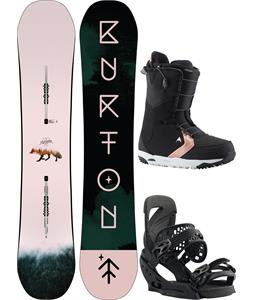 Burton Yeasayer Flying V Snowboard Package