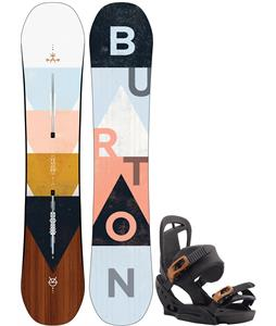Burton Yeasayer Flying V Snowboard w/ Scribe EST Bindings