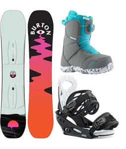 Burton Yeasayer Smalls Snowboard Package