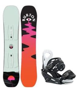 Burton Yeasayer Smalls Snowboard w/ Smalls Bindings