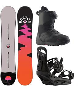 Burton Yeasayer Snowboard Package