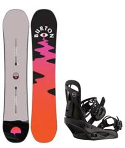 Burton Yeasayer Snowboard w/ Scribe Bindings