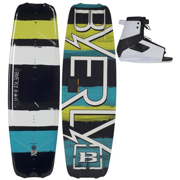 Byerly Monarch Wakeboard 52 W / Standard Boots U.S.A. & Canada