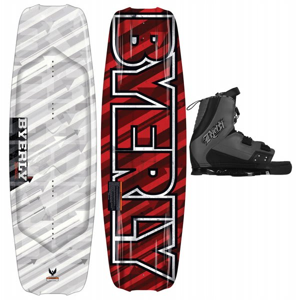 Byerly Monarch Wakeboard 54 W / Verdict Bindings U.S.A. & Canada