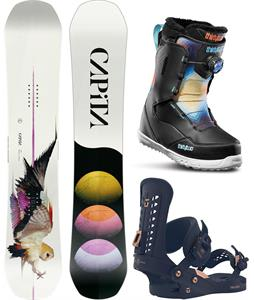 CAPiTA Birds Of A Feather Snowboard Package